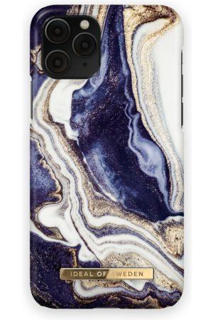 Ideal of sweden Fashion Case iPhone 11 Pro Golden Indigo marble