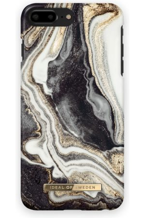 Ideal of sweden Fashion Case iPhone 7 Plus Golden Ash marble