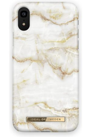 Ideal of sweden Fashion Case iPhone XR Golden Pearl Marble