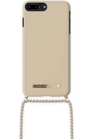 Ideal of sweden Ordinary Phone Necklace Case iPhone 8 Plus Cream Beige