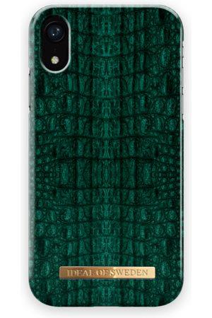 Ideal of sweden Fashion Case iPhone XR Emerald Croco