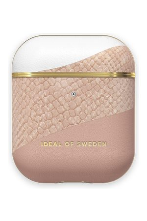 Ideal of sweden Atelier AirPods Case Blush Pink Snake