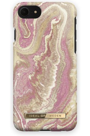 Ideal of sweden Fashion Case iPhone 7 Golden Blush Marble