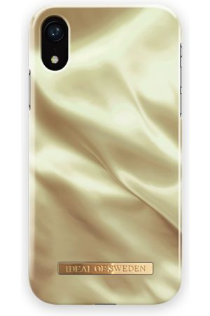 Ideal of sweden Fashion Case iPhone XR Honey Satin
