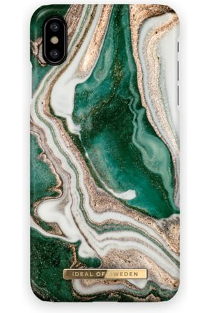 Ideal of sweden Fashion Case iPhone Xs Max Golden Jade Marble