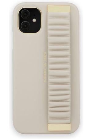 Ideal of sweden Statement Case iPhone 11 Ruffle Cream Top-Handle