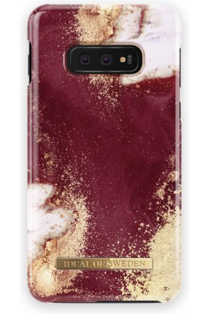 Ideal of sweden Fashion Case Galaxy S10E Golden Burgundy Marble