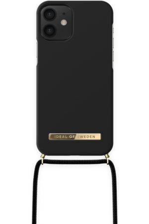 Ideal of sweden Ordinary Phone Necklace Case iPhone 12 Mini Jet Black