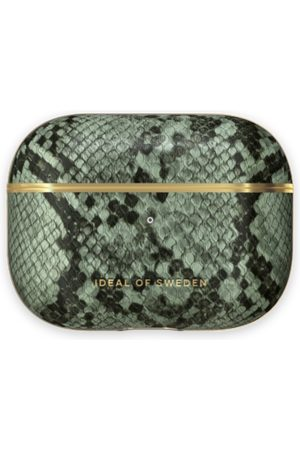 Ideal of sweden Fashion Airpods Case Pro Khaki Python