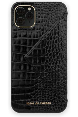 Ideal of sweden Statement Case iPhone 11 PRO MAX Neo Noir Croco Flap Pocket