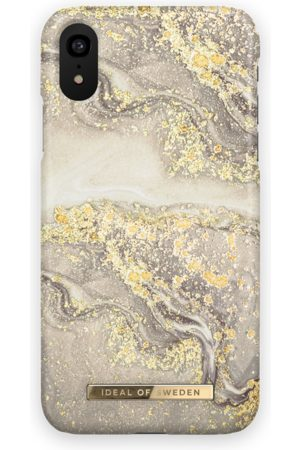 Ideal of sweden Fashion Case iPhone XR Sparkle Greige Marble