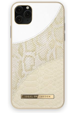 Ideal of sweden Atelier Case iPhone 11 Pro Max Cream Gold Snake