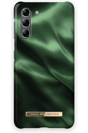 Ideal of sweden Fashion Case Galaxy S21 Emerald Satin