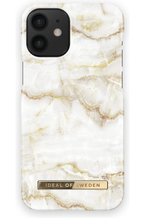 Ideal of sweden Fashion Case iPhone 12 Mini Golden Pearl Marble
