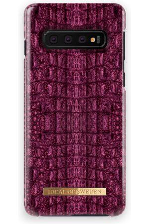 Ideal of sweden Fashion Case Galaxy S10 Burgundy Croco