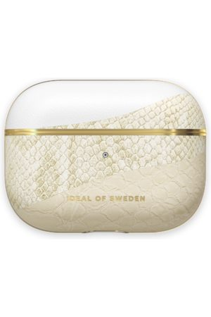 Ideal of sweden Atelier AirPods Case Pro Cream Gold Snake