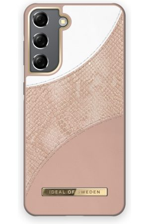 Ideal of sweden Atelier Case Galaxy S21 Blush Pink Snake