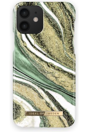 Ideal of sweden Fashion Case iPhone 12 Cosmic Green Swirl