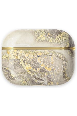 Ideal of sweden Fashion Airpods Case Pro Sparkle Greige Marble