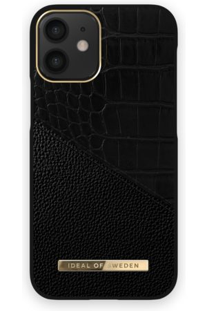 Ideal of sweden Atelier Case iPhone 12 Mini Nightfall Croco