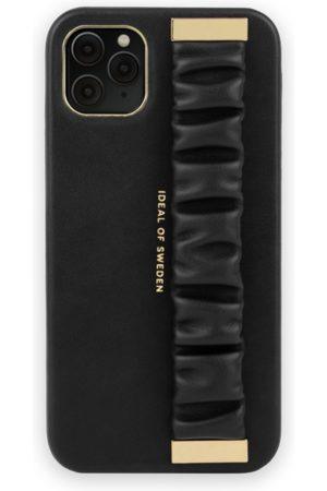 Ideal of sweden Statement Case iPhone 11 Pro Max Ruffle Noir Top-Handle