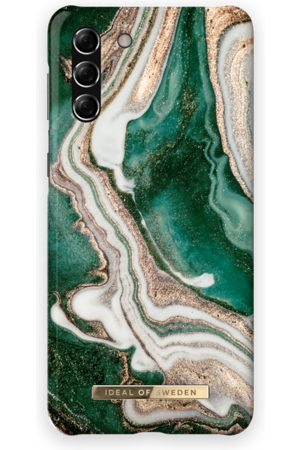 Ideal of sweden Fashion Case Galaxy S21 Plus Golden Jade Marble