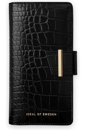 Ideal of sweden Cora Phone Wallet iPhone 12 Mini Jet Black Croco
