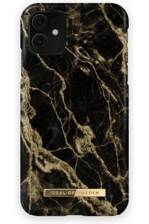 Ideal of sweden Fashion Case iPhone 11 Golden Smoke Marble