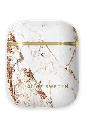Ideal of sweden Fashion Airpods Case Carrara Gold