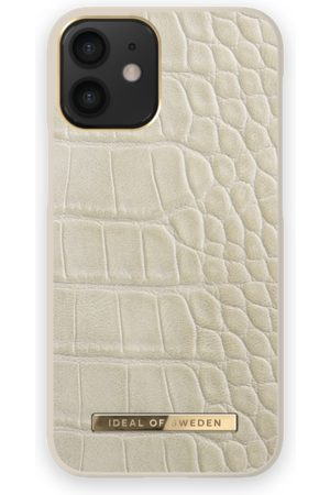 Ideal of sweden Atelier Case iPhone 12 Mini Caramel Croco
