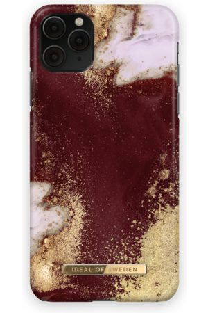 Ideal of sweden Fashion Case iPhone 11 Pro Max Golden Burgundy Marble