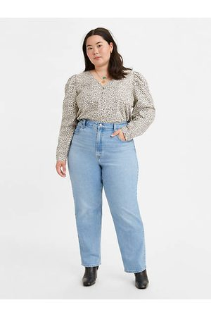 Levi's 70's High Straight Jeans (grote maat)