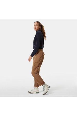 The North Face The North Face Heritage-cargobroek Voor Dames Utility Brown Größe 40 Dame