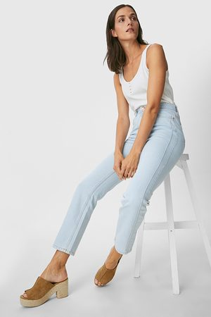 C&A Dames Straight - Straight jeans-gerecycled