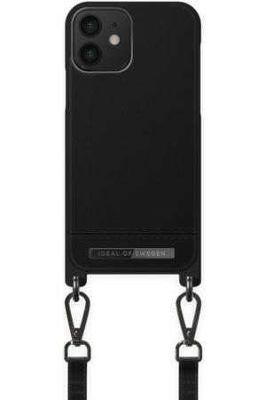 Ideal of sweden Telefoon - Atelier Phone Necklace Case iPhone 12 Onyx Black