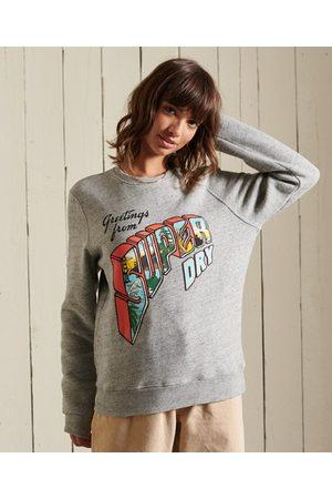 Superdry Heritage Mountain sweatshirt met ronde hals