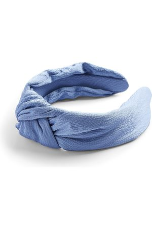 Primark Blue satin knot headband