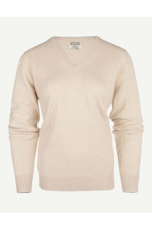 William Lockie Dames Pullovers - Dames V-hals Lamswol