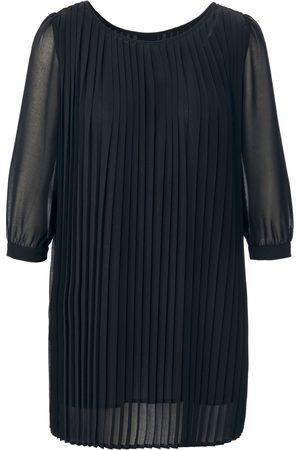 Uta Raasch Dames Blouses - Plissé-blouse 3/4-mouwen Van