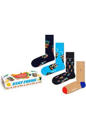 Happy Socks Sokken & Kousen - Healthy lifestyle giftbox 4-pack