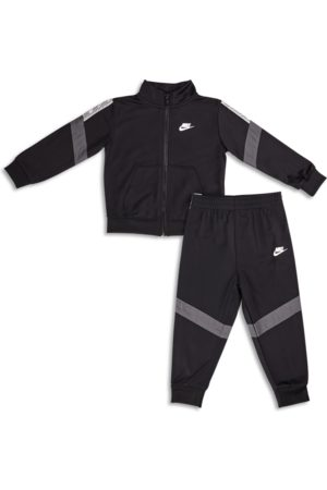 Nike Boys Sportswear Elevated Trims Track - Baby Tracksuits - Black - Poly Tricot - Maat 80 - 85 CM - Foot Locker