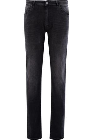 Pt, Pantaloni Torino Jeans Heren Donkergrijs Cotton Stretch