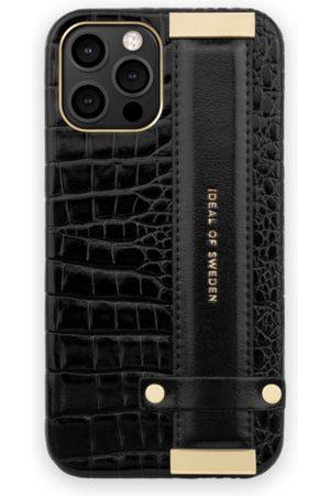 Ideal of sweden Statement Case 12 Pro Max Neo Noir Croco Strap Handle