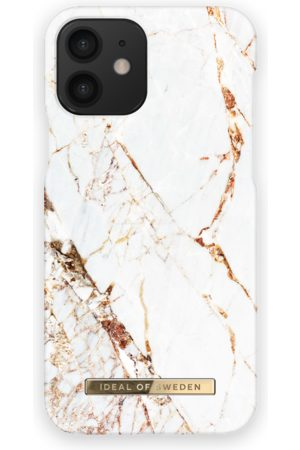 IDEAL OF SWEDEN Telefoon - Fashion Case iPhone 12 Carrara Gold