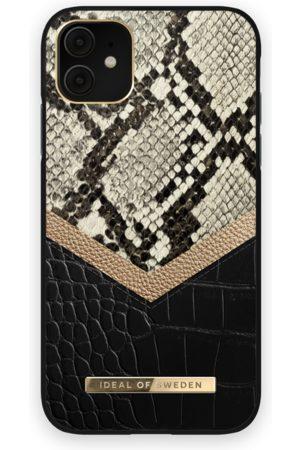 IDEAL OF SWEDEN Dames Telefoon - Atelier Case iPhone 11 Midnight Python