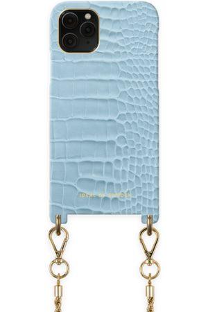 Ideal of sweden Atelier Necklace Case iPhone 11 Pro Sky Blue Croco