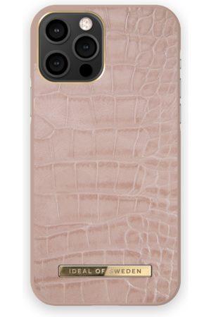 IDEAL OF SWEDEN Dames Telefoon - Atelier Case iPhone 12 Pro Rose Croco
