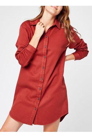 VILA Dames Spijkerjurken - Virooney Ofelia L/S Denim Shirt Dress by