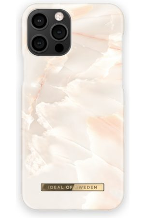 Ideal of sweden Telefoon - Fashion Case iPhone 12 Pro Rose Pearl Marble