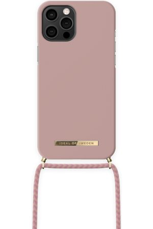 Ideal of sweden Dames Telefoon - Ordinary Phone Necklace Case iPhone 12 Pro Max Misty Pink